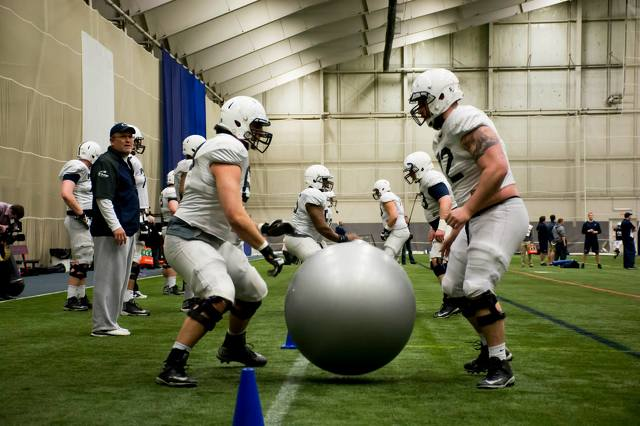 Penn State Returns Confidence, Experience To Offensive Line