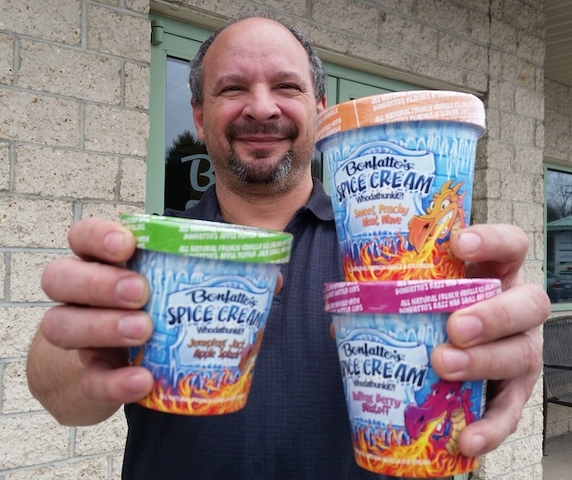 Fiery Ice Cream Pitch Gets Sizzling Exposure on National TV