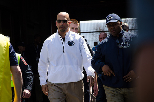 Penn State Football: As James Franklin Approaches First Pitch Tonight, Baseline Is Rapper 50 Cent