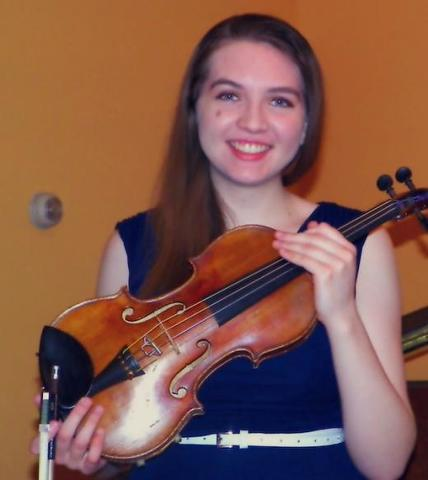 Talented High School Violinist Holds Benefit Concert