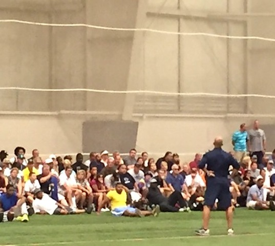 Camping With James Franklin and Penn State Football on Father's Day