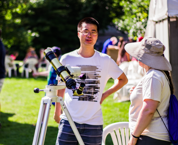 Astronomers Give ArtsFest a Closer Look at the Sun