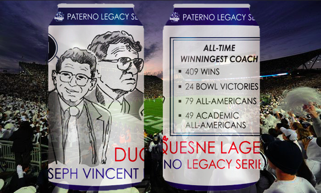Paterno Legacy Series Beer Aims to Honor Coach's Accomplishments