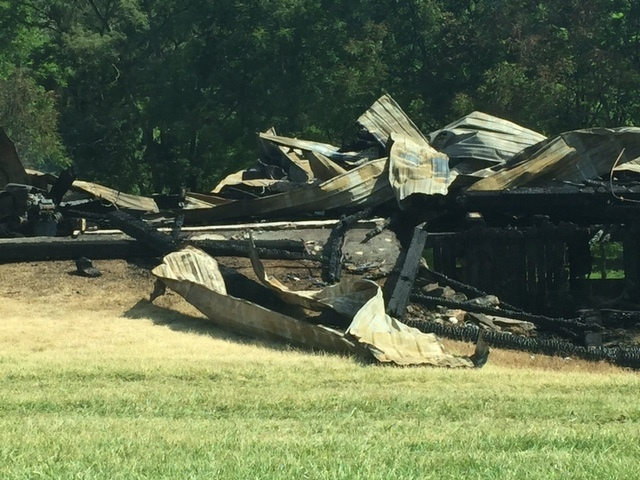 Investigators Unable to Determine Cause of Fire That Destroyed 100-Year-Old Barn