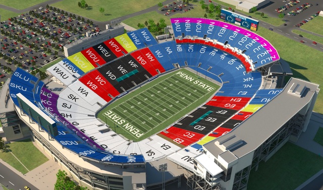 Penn State Football: Ticket Sales Visualized And The Biggest Question Still Remains