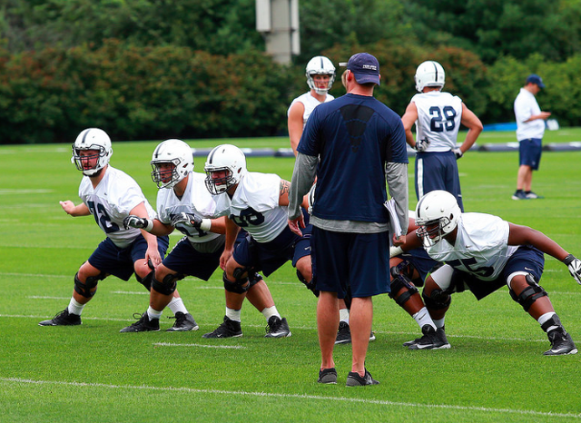 Penn State Football: With Few Options, Offensive Line Will Try A Remix
