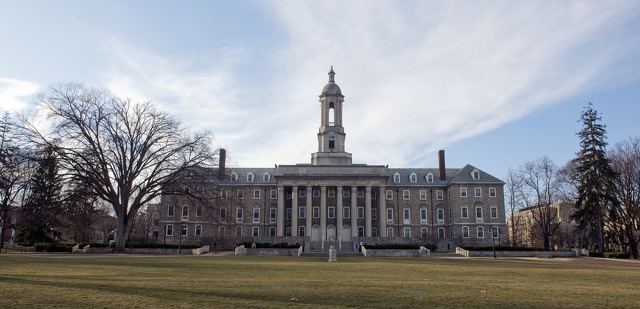 The Life and Death of the Penn State Elms