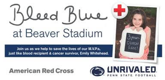 Give Something That Means Something: Beaver Stadium Blood Drive