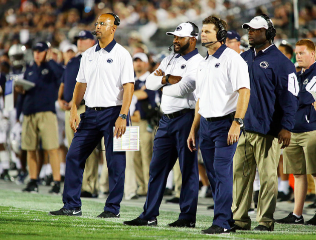 Penn State Football: However Brief, Hackenberg And Franklin Happy With Rahne At OC