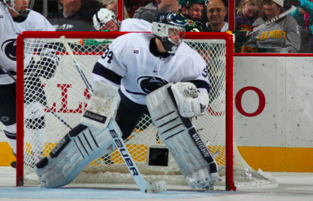 BIG10: Penn State McAdam Guts Out 40 Save Performance As Nittany Lions Beat Minnesota 3-2