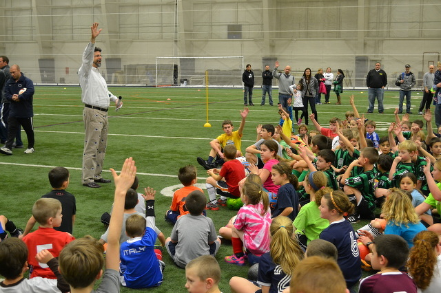 Soccer Clinic Will Pay Tribute to Mack Brady