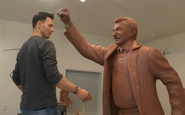 An Inside Look: The New Paterno Statues
