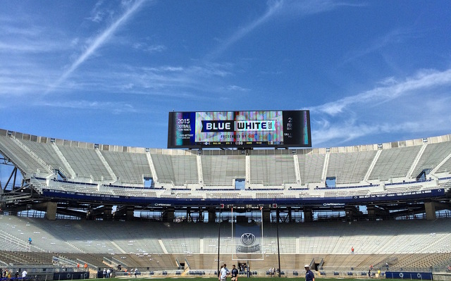 Blue-White Game Parking and Traffic Details Finalized