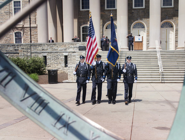 Ceremony to Honor Fallen Law Enforcement Officers