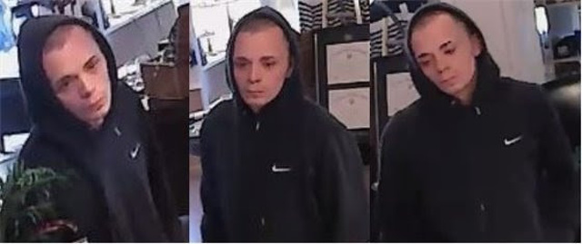 Police Seek Suspect in Downtown Credit Card Fraud