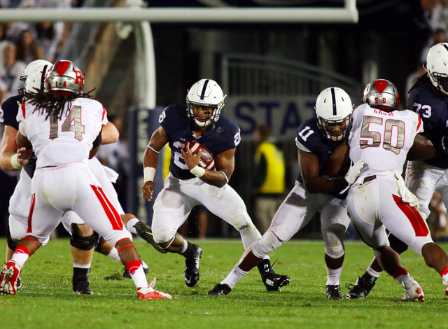 Penn State Football: Barkley Impressed By Miles Sanders