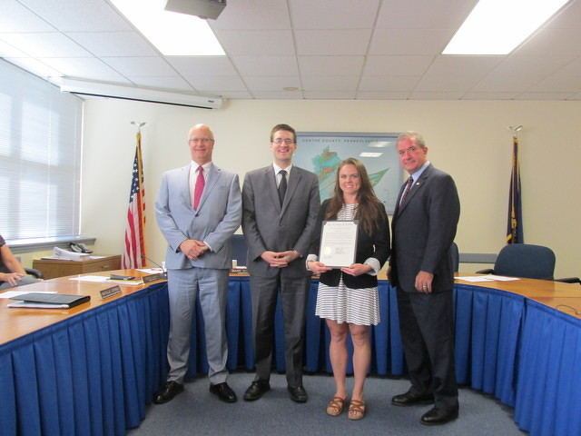 Commissioners Proclaim Local Foods Week in Centre County