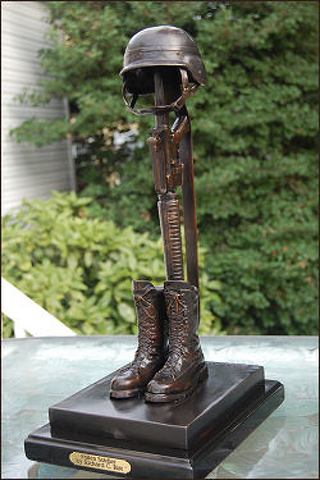 Police Recover Statues Stolen from Soldier Memorial