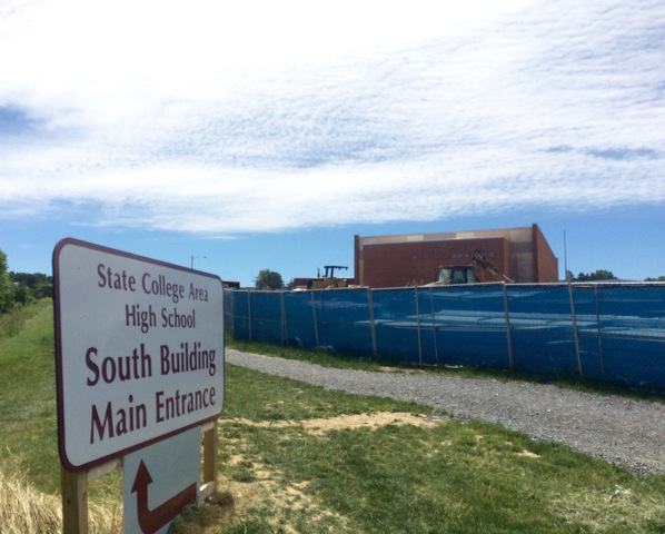 Board Hears State High Project Update, Approves Change Orders