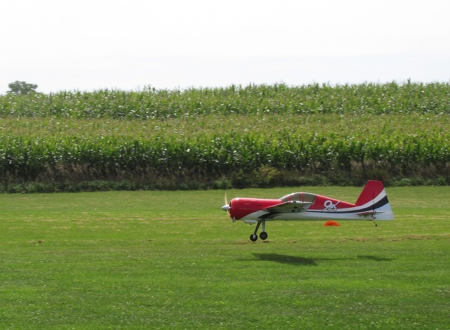 Planes Compete in Potter Township Aerobatic Contest