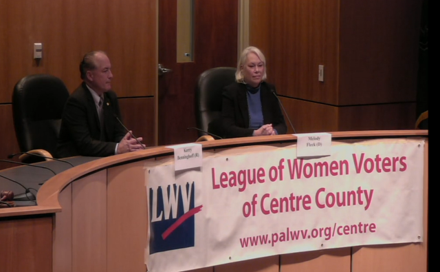 Candidates Address the Issues at League of Women Voters Forum