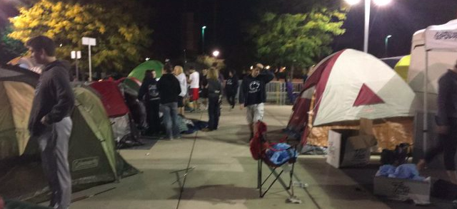Penn State Football: Nittanyville Begins Week Long Campout Prior To Ohio State Game