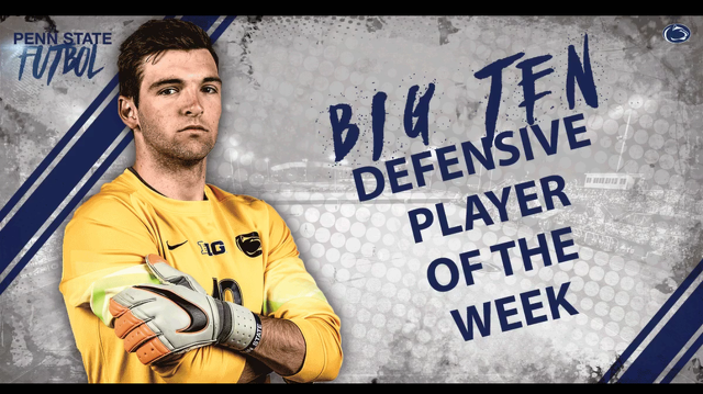 Penn State's Finney Takes Big Ten Defensive Player of the Week Honors