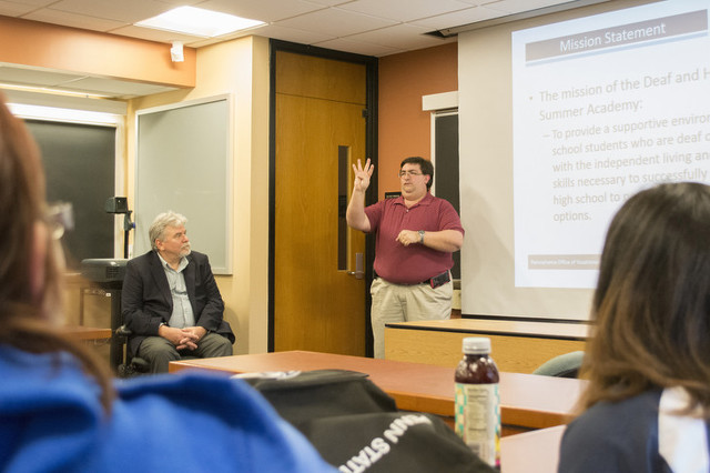 Penn State to Host State's First Deaf and Hard of Hearing Summer Academy