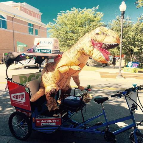Entrepreneur and Part-Time Dinosaur Transforming State College