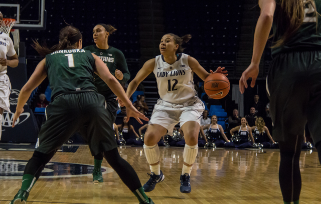 Lady Lions' Offense Goes Off in 106-50 Win Over Saint Peter's