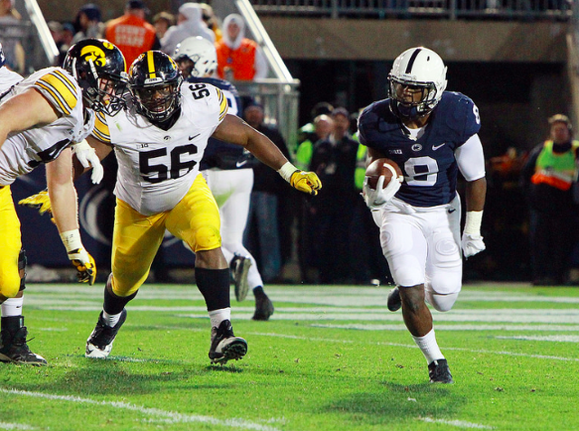 Penn State Football: Latest College Football Playoff Poll Has Nittany Lions At No.8