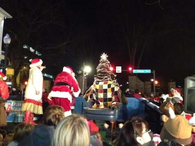 Christmas Tree Lighting In Downtown Mobile