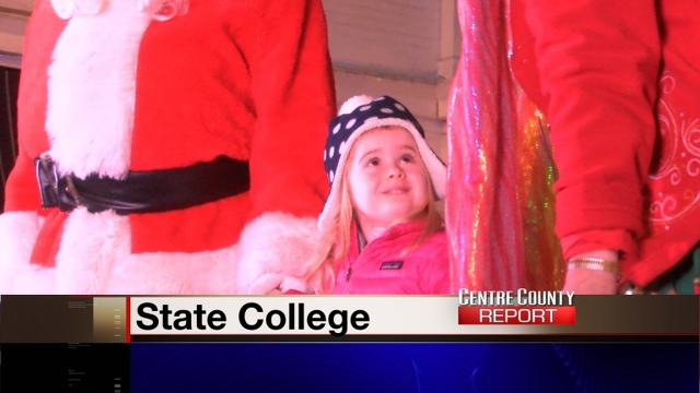 Holiday Season Begins with State College Tree Lighting