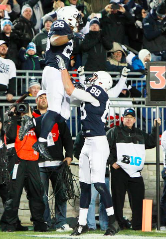 Penn State Headed To Big Ten Title Game Following 45-12 Win Over Michigan State