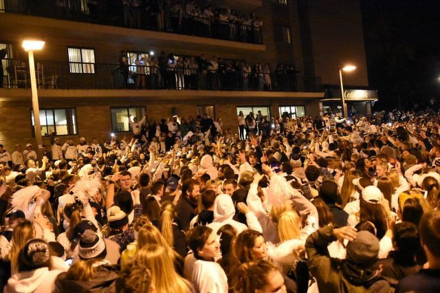 Five Charged in Riot Waive Hearings