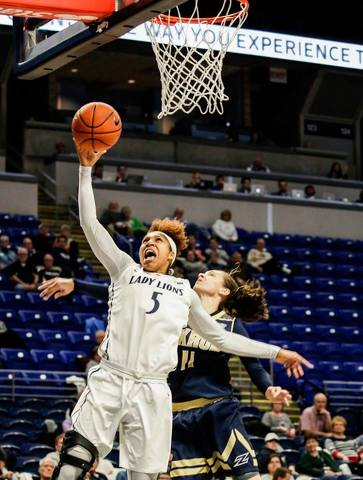 Lady Lions Hold Off Marshall, 82-80