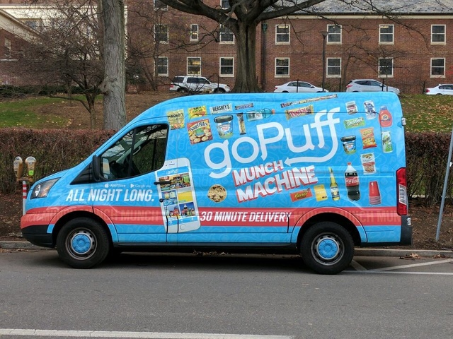 Convenience Store Delivery Service GoPuff Launches in State College