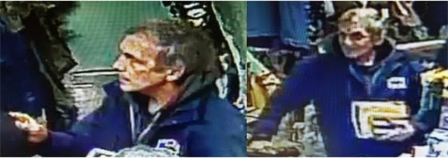 Police Looking for Suspect in Jim's Army & Navy Theft