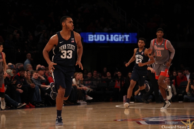 Hot First Half Helps Penn State Basketball Storm Past St. John's, 92-76