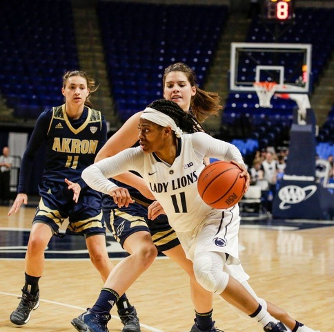 Lady Lion Teniya Page Wins Big Ten Player of the Week for Third Time