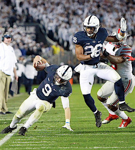 Penn State Football: Where Do McSorley & Barkley Rank Among All-time PSU Duos?