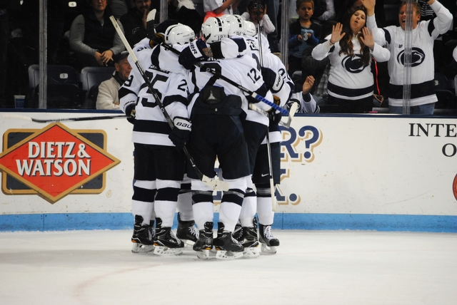 Penn State Hockey Climbs to No. 2 in USCHO Poll