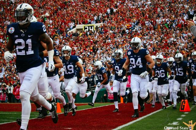 Penn State Football Players Surprise Third Grade Students with Letters