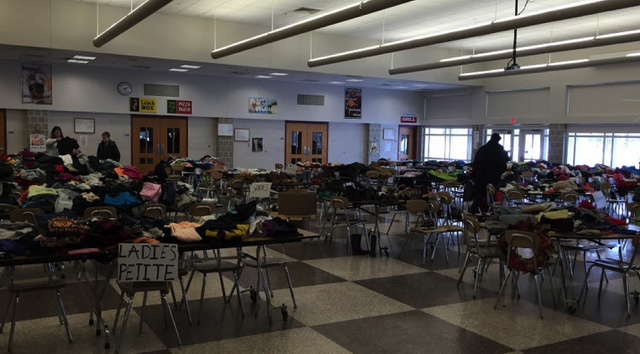 Mount Nittany Middle School, Elementary School Team Up to Offer Free Clothes to Families