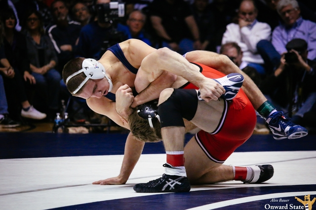No. 2 Penn State Wrestling Overpowers No. 20 Wisconsin
