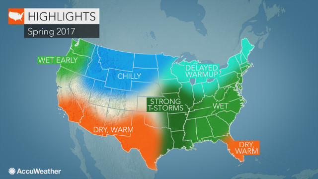 No Early Spring Warm-Up, AccuWeather Expert Says
