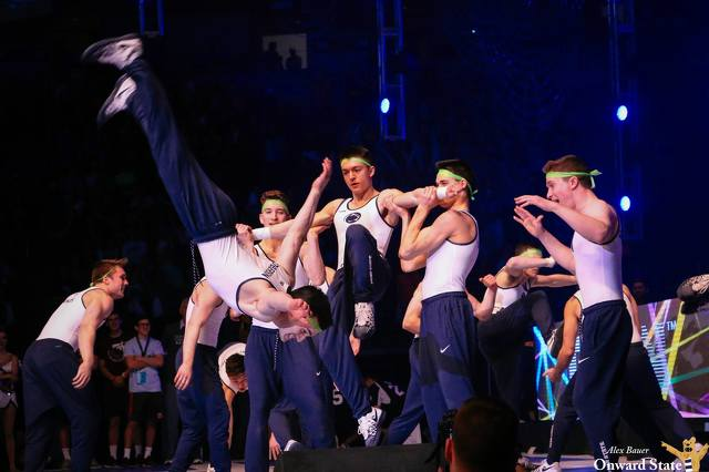 Check in hand, Penn State Berks students head for THON