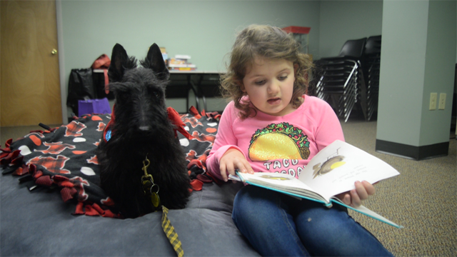 Centre County Library's Furry New Tutor Helps Kids Get Comfortable with Reading