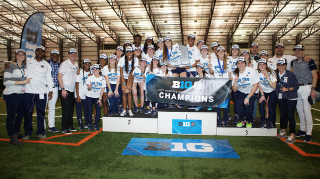 Penn State Women's Track and Field Wins Big Ten Indoor Championship