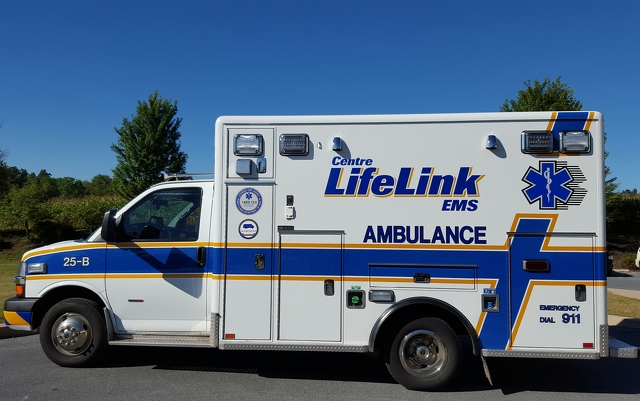 Centre LifeLink EMS Reports Increase in Calls Over State Patty's Weekend